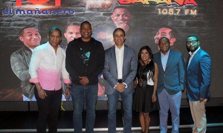 El Mañanero celebró su llegada a La Bakana 105.7 FM con show de Humor.