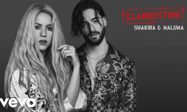 Clandestino: El Video Sensual de Maluma y Shakira
