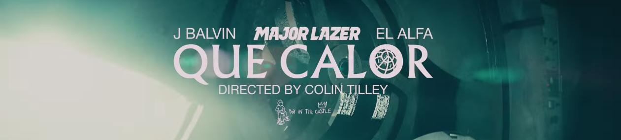 Major Lazer – Que Calor (feat. J Balvin & El Alfa)