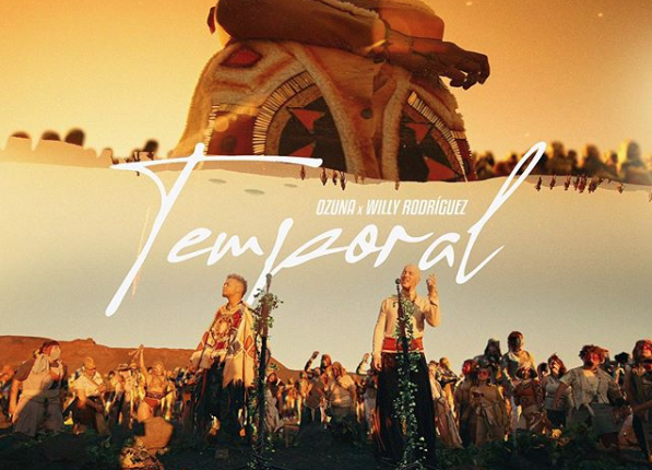 "OZUNA ESTRENA VIDEO DEL SENCILLO ""TEMPORAL"" JUNTO A WILLY RODRÍGUEZ DE CULTURA PROFÉTICA"