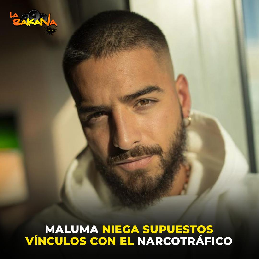 Maluma niega sus supuestos vínculos con el narcotráfico