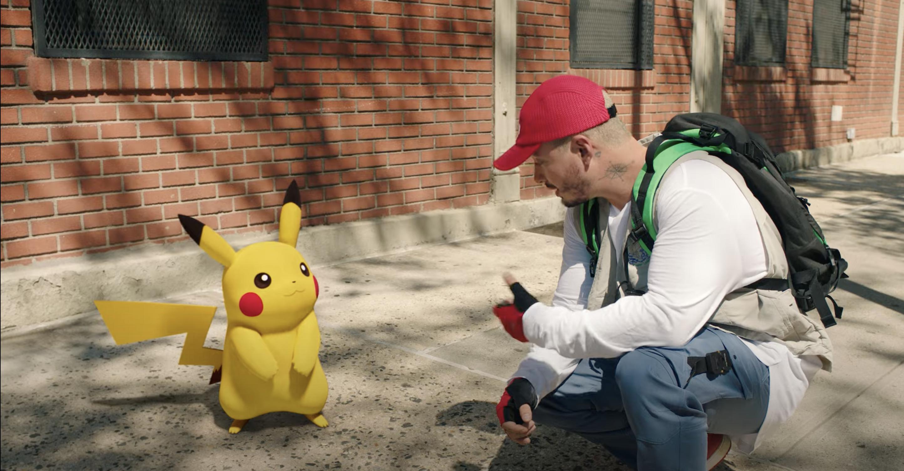 J. Balvin único latino en el álbum del 25 aniversario de Pokemón